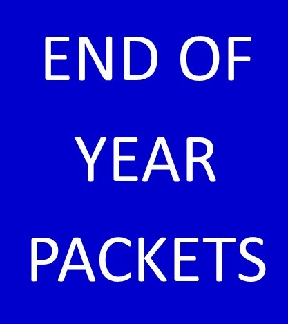 END OF YEAR PACKETS